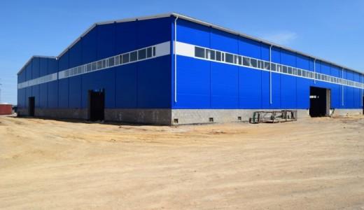 Производственная база в Красноярске