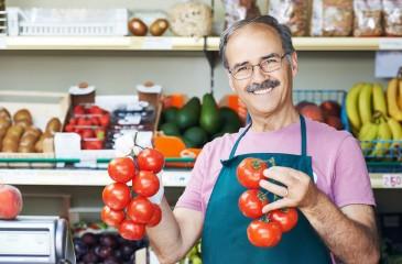 Овощной магазин самообслуживания