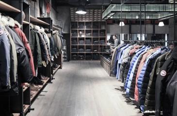 Магазин мужской одежды в ТЦ