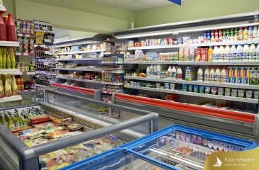 Продуктовый магазин с товарным остатком