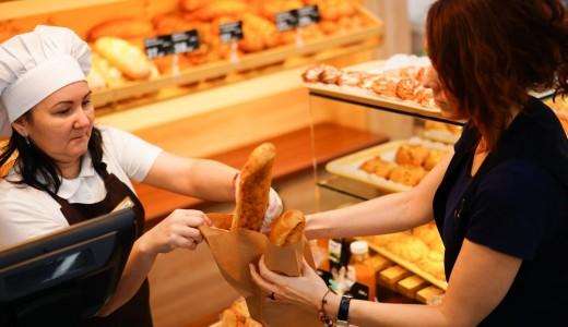 Магазин-пекарня в Индустриальном районе