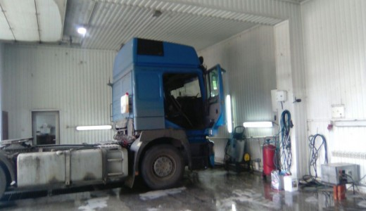 Мойка для легковых и грузовых машин