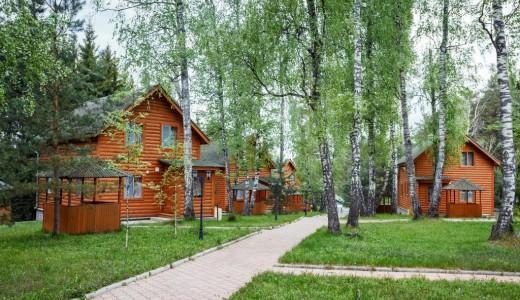 База отдыха на Красноярском море