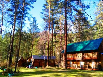 База отдыха в Горном Алтае, 1 мил. прибыли в месяц