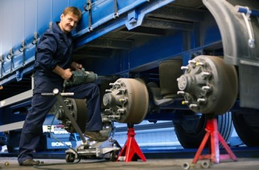 Успешный грузовой шиномонтаж в Барнауле