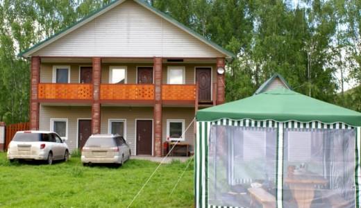 База отдыха на Алтае в Усть-Коксинском районе