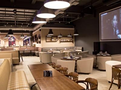 Современный бар-ресторан