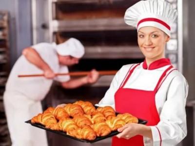 Пекарня в оживлённом районе города