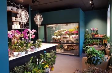 Цветочный магазин в центре