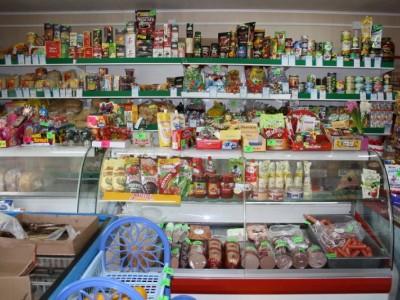 Продуктовый магазин в Заозерном