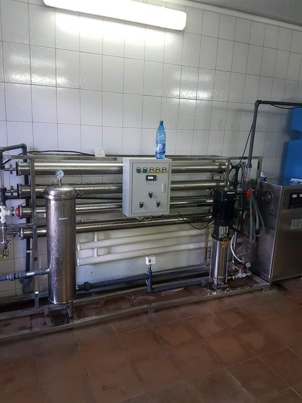 Линии розлива питьевой воды в бутыли 19л в Владивостоке