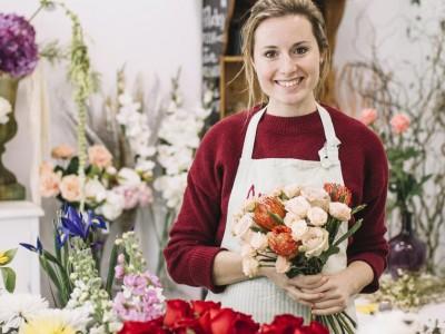 Салон цветов в хорошей локации