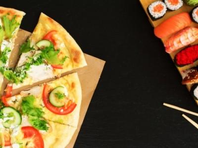 Доставка суши и пиццы + пивной магазин