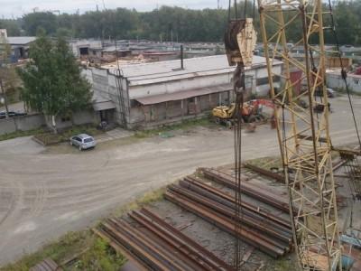 Производственная база с ЖД тупиком