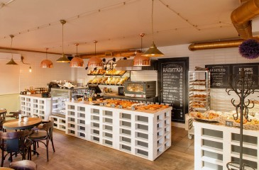 Пекарня в жилом районе