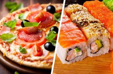 Доставка суши и пиццы в Советском районе