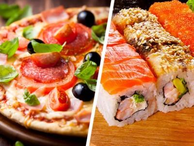 Доставка суши и пиццы в Советском районе (продано)
