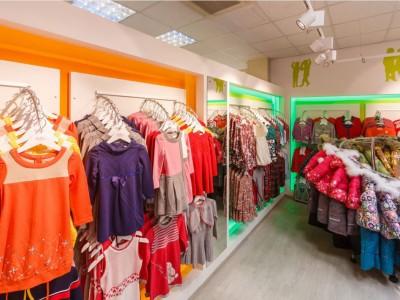 Магазин детской одежды в развитом районе(продано)