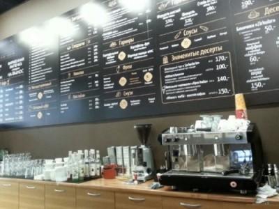 Кофейня в крупном ТРЦ