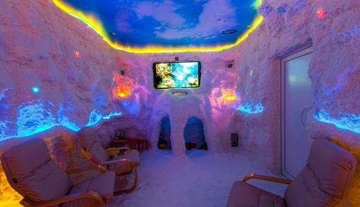 Соляная пещера на Взлётке