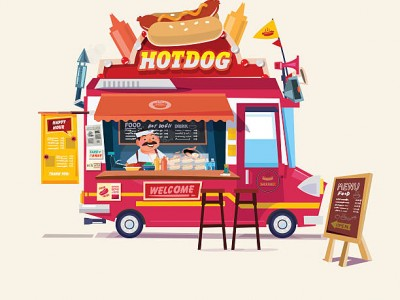 Мобильный Food Truck премиум класса
