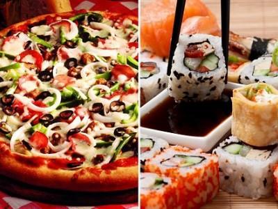 Доставка вкусной пиццы, роллов, фастфуда (продано)