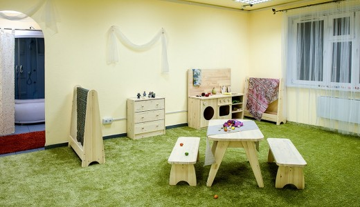 Частный детский сад с набранной группой