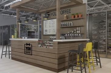 Мини-кофейня в торговом комплексе