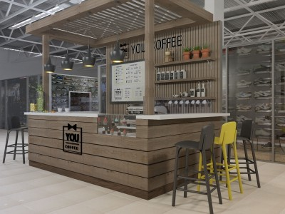 Мини-кофейня в торговом комплексе (продано)