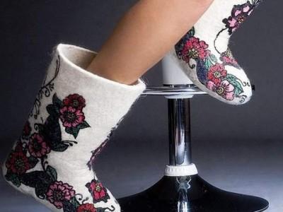 Производство валяной обуви