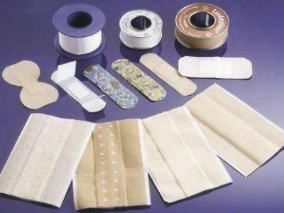 Производство лейкопластыря, бинтов и ваты