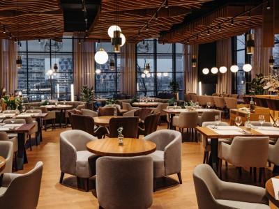 Известный кофейный ресторан.