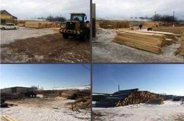 База лесозаготовки