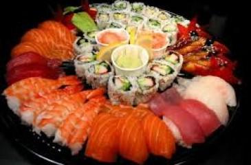 Раскрученная служба доставки суши