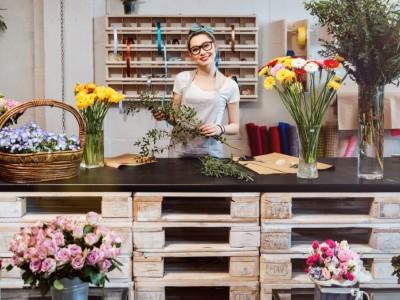 Цветочный магазин известной сети