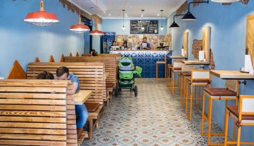 Бургер-бар в центре города