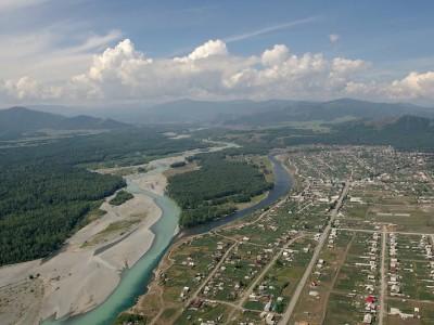 Известная база отдыха в Горном Алтае