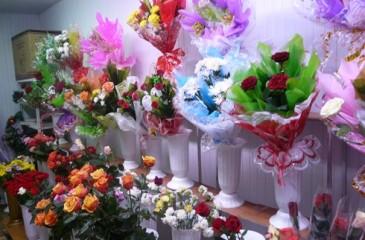 Популярный цветочный магазин