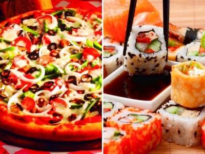 Доставки пиццы и суши