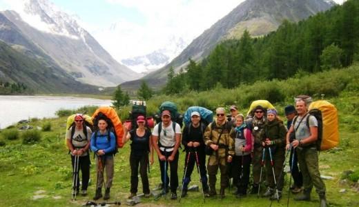 База отдыха в горах Алтая