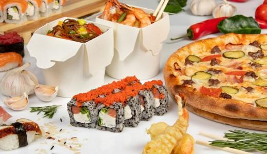 Известная сеть доставки суши, пиццы и WOK-лапши