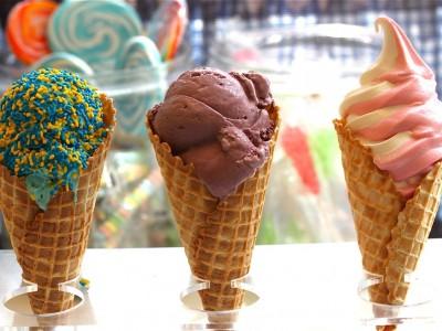 Островок мороженого в ТЦ