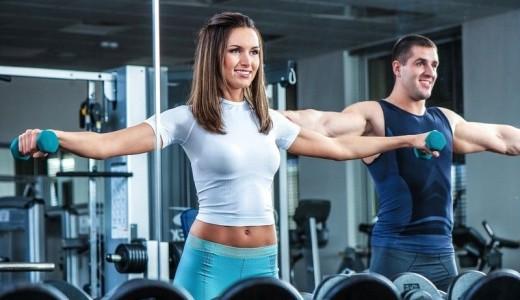 Популярный фитнес-клуб