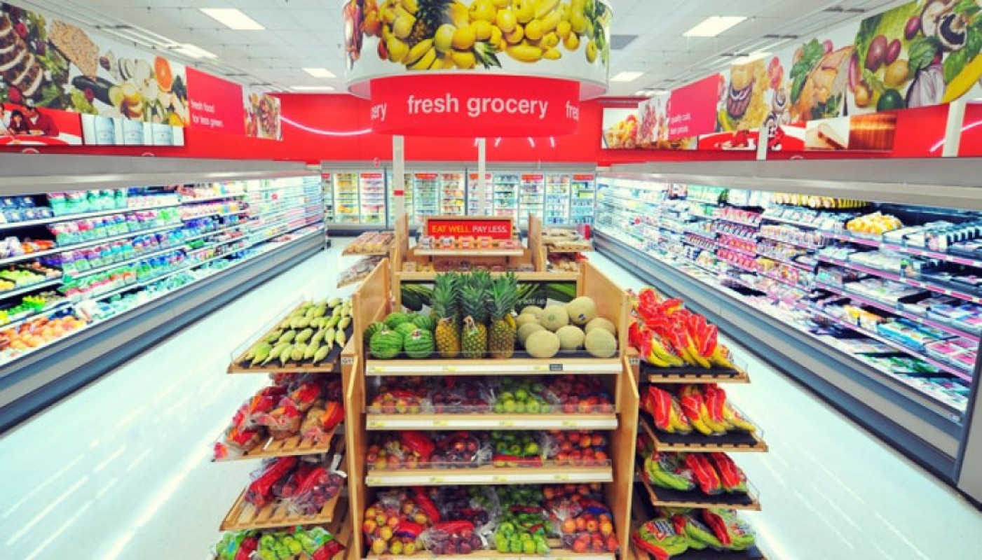 target market for chain grocery stores