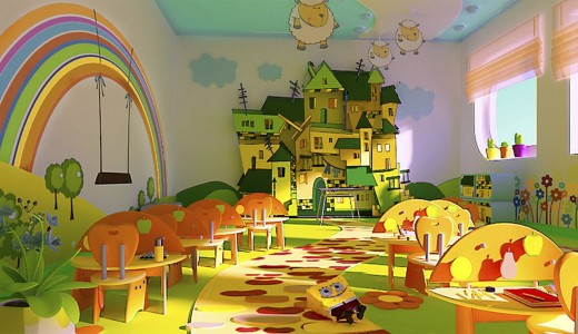 Детский сад с собственной площадкой