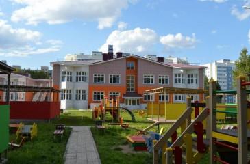 Двухэтажный детский сад