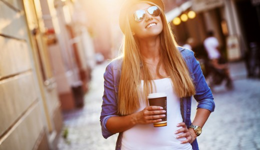Сеть кофеен в центре города
