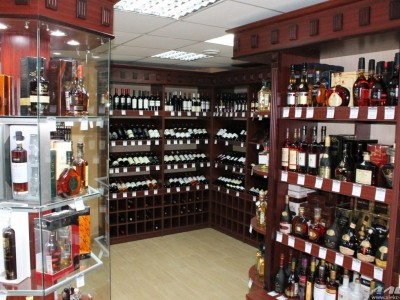 Магазин алкогольных напитков в Железнодорожном районе