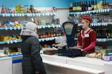 Продуктовый магазин в Волчихе