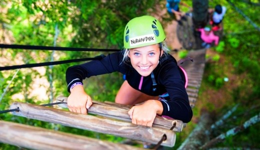 Известный верёвочный парк в Горном Алтае